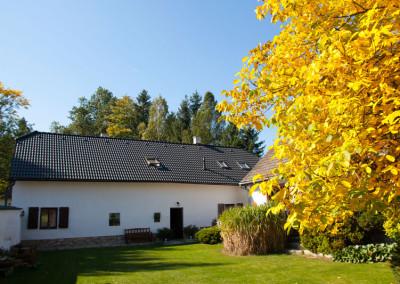 Podzim na penzionu
